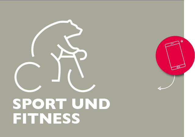 Illustration Bär Sport und Fitness