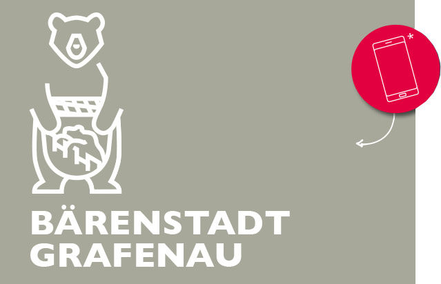 Illustration Bär Bärenstadt Grafenau